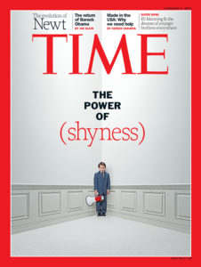 Power of Shyness Cover of Time